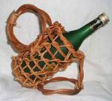 กระเช้าไวน์หวาย VN-0065