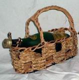 กระเช้าไวน์หวาย VS-0009
