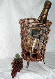 กระเช้าไวน์หวาย VS-0002