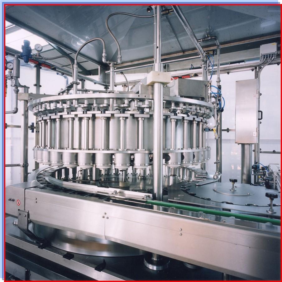 เครื่องบรรจุซอสและอาหาร (Vacuum filler แบบ internal valve/external valve)
