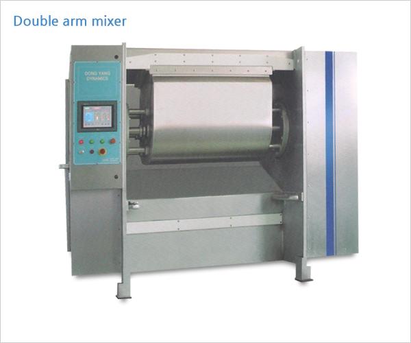 Double arm mixer (เครื่องนวดแป้งแบบสองแขน)