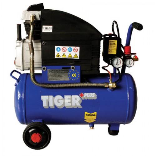 ปั๊มลมโรตารี่ ขนาด 2.5 HP 25ลิตร รุ่น TX-2525 ''TIGER''