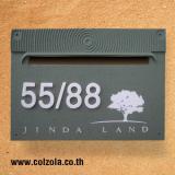 ตู้รับจดหมายแบบฝังกำแพง Col-F43