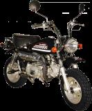 รถจักรยานยนต์ Stallions Mini Momo (2011) Black