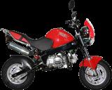รถจักรยานยนต์ Stallions Mini SOLO
