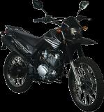รถจักรยานยนต์ Lifan Cross 200 (Black)