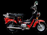 รถจักรยานยนต์ BigBull Pocky (black)