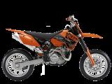 รถจักรยานยนต์ KTM 450 SMR