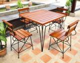 โต๊ะกลางแจ้ง FD  004 Outdoor set