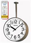 นาฬิกาสำเร็จรูป 2 ด้าน ใช้ห้อยลงมาจากเพดาน  รุ่น FC-7631 (000255)