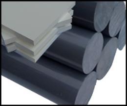 พลาสติกสีเทา PVC (Rod, Sheet)