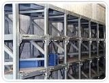 ชั้นวางสินค้าอุตสาหกรรม Slide Racking System