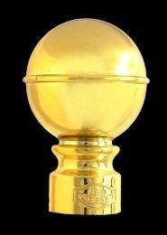 หัวกลมเล็ก สีทอง 26 มิล