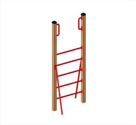 ของเล่นไม้ Vertical ladder