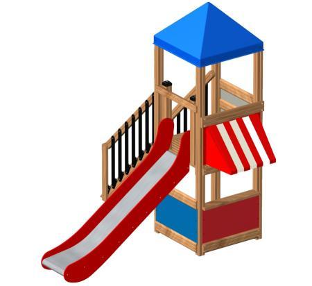 ของเล่นไม้ Logo Tower