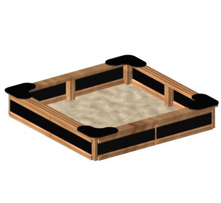 ของเล่นไม้ Sandbox Nature