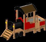 ของเล่นไม้ Locomotive