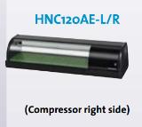 ตู้โชว์ซูชิ HNC120AE-L/R