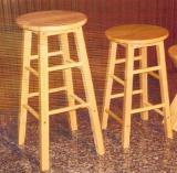 เก้าอี้บาร์สตูล ไม้ยางพารา