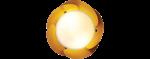 พัดลมติดเพดาน SOLE-BN/YELLOW 11789