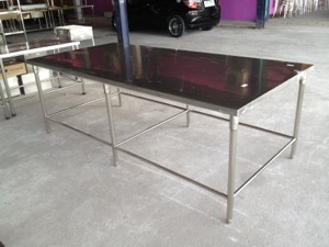 โต๊ะเตรียม 1 ชั้น-สแตนเลส