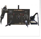 เครื่องบัดกรีถอดใส่อุปกรณ์ AT8502D 2 in 1