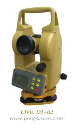 กล้องวัดมุมอิเล็กทรอนิกส์เลเซอร์ CIVIL รุ่น DT-02