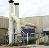 ระบบบำบัดฝุ่นและควัน โรงงานอุตสาหกรรม.