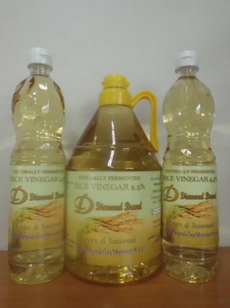 น้ำส้มสายชูหมักจากข้าวหอมมะลิ