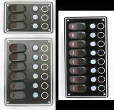 สวิทซ์สลับ  Switch Panel w/LED & Breaker