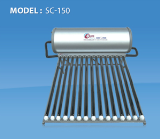 เครื่องทำน้ำร้อนระบบพลังงานแสงอาทิตย์SC-150