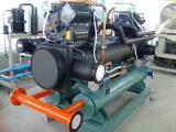 เครื่องปรับอุณหภูมิน้ำเย็นระบายความร้อนด้วยน้ำ60 Ton/Hr