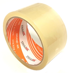 THAI KK เทปกาว เทปโอพีพี 45 ไมครอน ขนาด 48 มม. x 45 หลา รุ่น KK Orange-สีใส