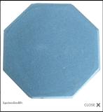 อิฐแปดเหลี่ยมสีฟ้า