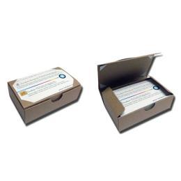 ผลิตภัณฑ์กระดาษ กล่องกระดาษใส่นามบัตร