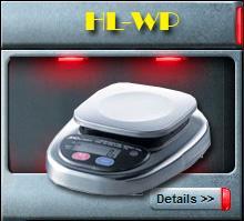 เครื่องชั่งกันน้ำรุ่น HL-WP
