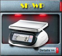 เครื่องชั่งกันน้ำรุ่น SK-WP