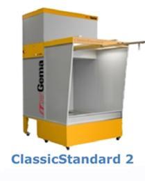 ห้องพ่นสีฝุ่น ITWGEMA รุ่น Classic standard2