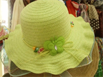 หมวกเด็ก ติดผีเสื้อ คละสี
