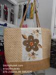 กระเป๋าปักดอกไม้