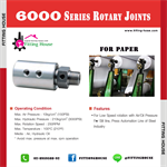 ROTARY JOINT Series 6000
