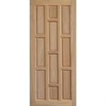 ประตูบานทึบ ไม้สยาแดง 80 x 200
