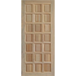 ประตูทึบลูกฟัก ไม้สยาแดง 80 x 200