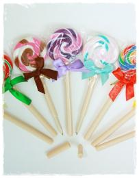 ปากกาลูกลื่น Lollipop Pen (หมึกน้ำเงิน)