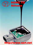 Electronic potting compound silicone rubber