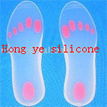 Liquid silicone rubber for insole making