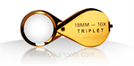 10x 18mm Triplet loupe with rubber-grip