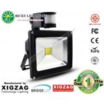 สปอร์ตไลท์LED Spot Light Flood Light 20W มีตัวเซ็นเซอร์